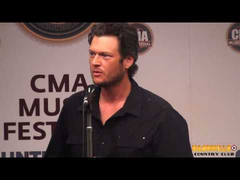 Blake Shelton CMA Fest Interview 2010