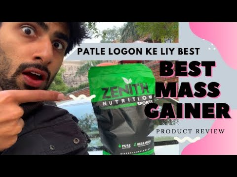 WANT TO GAIN WEIGHT QUICKLY ? | My First PRODUCT REVIEW Zenith Nutrition Mass Gainer | MRIDUL MADHOK