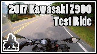 3. 2017 Kawasaki Z900 ABS - Test Ride