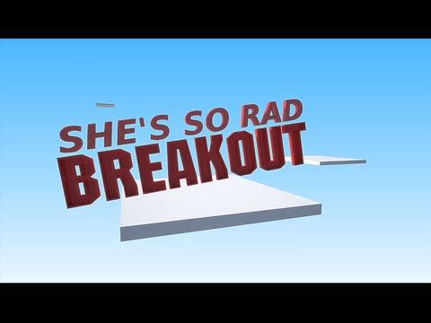 Watch She's So Rad's video for 'Breakout' featuring JayKin, Coco Solid, and Grandmaster Caz