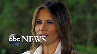 Video First lady Melania Trump on immigration, family separation and 'the jacket' (NIGHTLINE) MP3, 3GP, MP4, WEBM, AVI, FLV November 2018