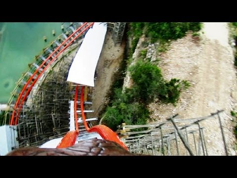 on ride - Here's our POV of Iron Rattler that shows just how smooth, fast and fun this RMC (Rocky Mountain Construction) steel hybrid coaster really is. Our favorite p...