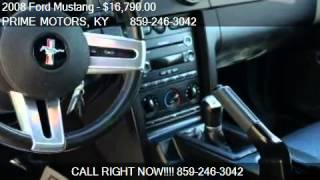 2008 Ford Mustang GT Premium Coupe - for sale in Lexington,