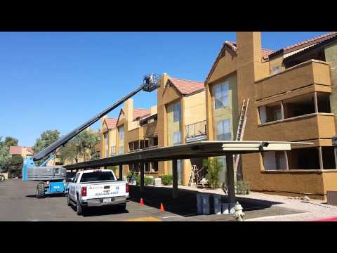 Exterior Painting To Apartment Complex In Phoenix AZ