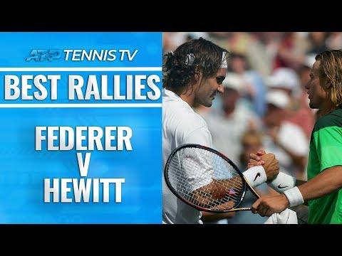 Roger Federer v Lleyton Hewitt: Greatest ATP Rallies - Thời lượng: 5 phút, 43 giây.