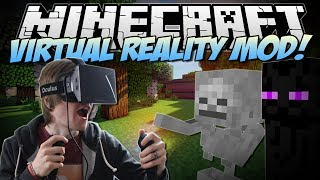 Minecraft | VIRTUAL REALITY MOD! (Razer Hydra & Oculus Rift!) | Mod Showcase