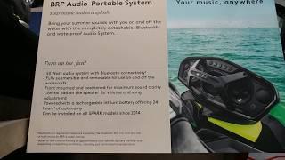 10. BRP AUDIO 50 WATT PORTABLE SYSTEM FOR SEA-DOO SPARK MODELS
