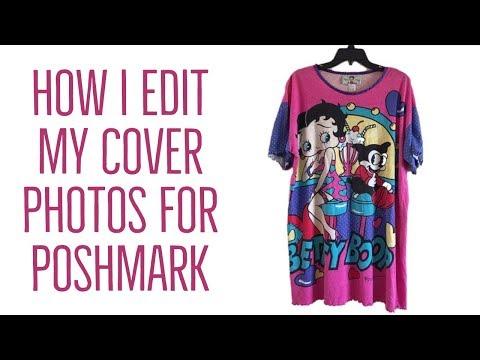 HOW I EDIT MY COVER PHOTOS FOR POSHMARK (видео)