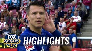 1. FC Koln vs. FC Schalke 04   2017-18 Bundesliga Highlights by FOX Soccer