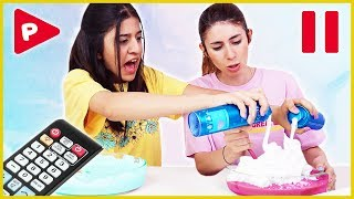 Pause Slime Challenge Dev Slaym Eğlenceli Çocuk Videosu Dila Kent