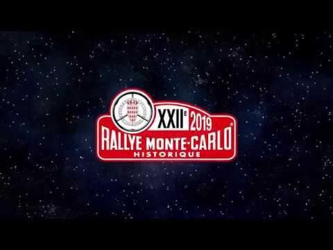 Teaser Rallye Monte-Carlo Historique 2019