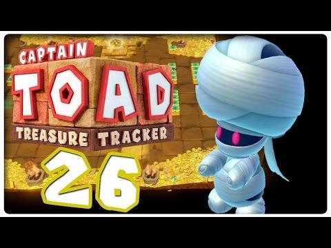 treasure - Let's Play Captain Toad: Treasure Tracker [Deutsch/Blind/100%/60 FPS] Part 26: Mummy Me Forever - Reif für die Klapse [ENDE] ▻ Meinen Kanal abonnieren: http://goo.gl/440Rdg ▻ Facebook...