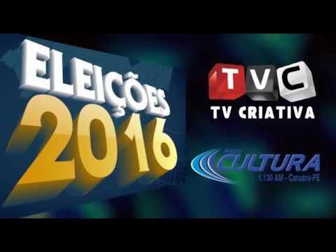 Sexta-feira tem debate entre os candidatos a prefeito de Caruaru na TV Criativa