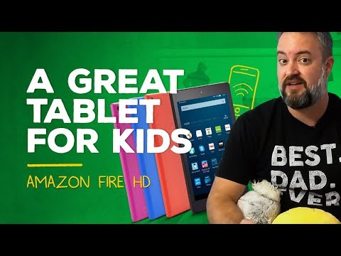 Amazon Fire HD 8: A tablet I'd actually give a kid!