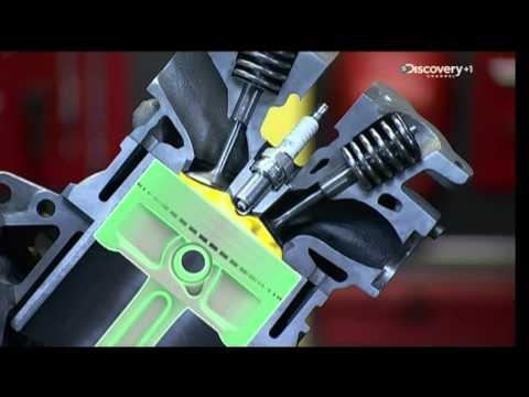 il motore 4 tempi - come funziona?