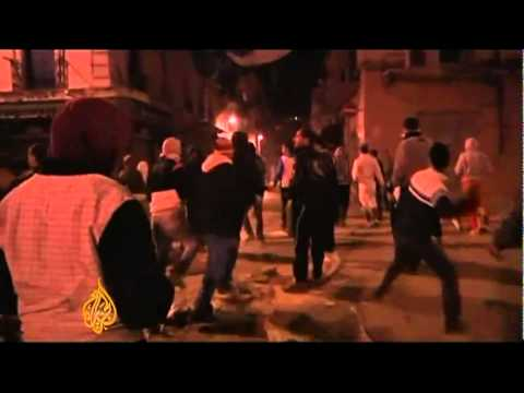 Algeria : second night of price protests