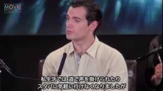 ザック・スナイダー監督、ヘンリー・カヴィル、渡辺直美ほか/『マン・オブ・スティール』来日記者会見
