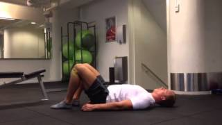 Exercise Index: Glutebrigde with bands
