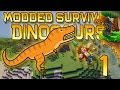 Minecraft: Modded Dinosaur Survival Let's Play w/Mitch! Ep. 1 - DINOS RETURN! SEASON 2!