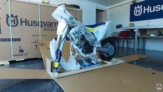 1. 2017 Husqvarna Motorcycle TC 65 Unboxing Video.