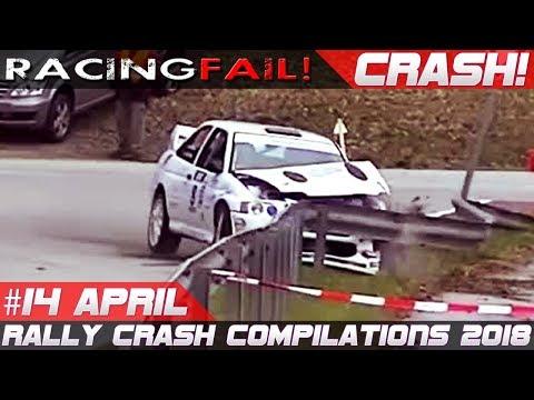 Rally Crash Compilation Week 14 April 2018 | RACINGFAIL