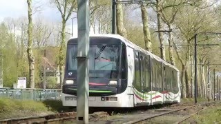 Tourcoing France  city photo : Le tramway de Lille - Roubaix - Tourcoing: Trams in Lille, France 2016
