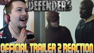 Marvel's The Defenders  Official Trailer 2  https://www.youtube.com/watch?v=D_6J9BqgonUTwitter: https://www.twitter.com/LiamCatterson94Facebook: https://www.facebook.com/officialliamcattersonReactors League: https://www.facebook.com/groups/707985799328293/https://www.youtube.com/channel/UCPPwKQ5XaJq8dBqNC0NP3mAThis is property of Liam Catterson. You may used for Reaction Compilations or promotion material--------------------------------------------------------------Marvel's The Defenders release is drawing nearer and as expected, an official second trailer has been released before we get hyped for the Defenders to come out next month, which sees the team in a bit more of a frantic state with amazing action scenes.