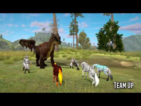 Horse Multiplayer : Arabian Online Mobile Game Promo Video - Wildfoot