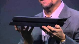 PS4 console revealed (E3 2013 Playstation 4 Sony Press Conference) HD