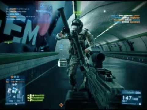 Battlefield 3 - серия 2 [Простафиля нубит в метро :)]