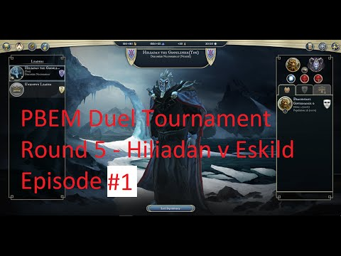 2015 PBEM Duel Tournament #1 - Round 5 - Hiliadan vs Eskild - episode #1 - turns 3 and 4 (commented)