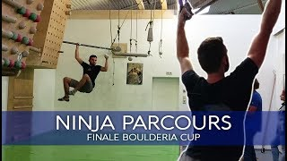 NINJA PARCOURS | Final course at the Boulderia Summer-Cup by BlocBusters