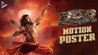Ram Charan Alluri Sitarama Raju Motion Poster | RRR Movie | Ram Charan | Jr NTR | SS Rajamouli