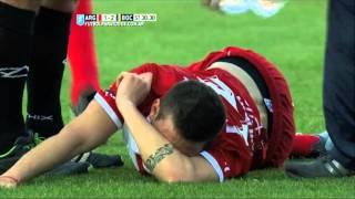 تيفيز يتسبب بإصابة عنيفة للاعب في الدوري الأرجنتيني