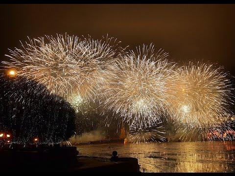Салют в спб в новый год 2017