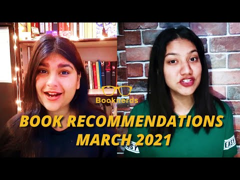 Book Recommendations   Booknerds   March 2021