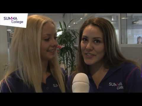Summa College: Burgerschapdag bij Summa Uiterlijke verzorging