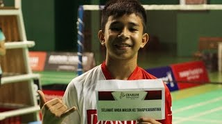 Video Perjalanan Rio Alvansyah menuju Djarum Beasiswa Bulutangkis 2016 MP3, 3GP, MP4, WEBM, AVI, FLV November 2018