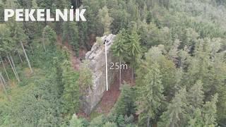 climbing VIDEOTOPO vol. 38. Jesenik / Ceska Ves. Certovy kameny. Pekelnik by Video Topo