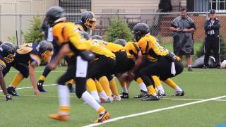 Week 5 - Pee Wee Warriors 50 vs Bel-Air Lions 0