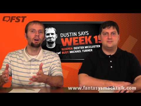 2012 Fantasy Football Week 15 Fantasy Fix