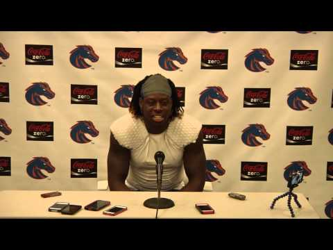 Jay Ajayi Air Force Post-Game Interview video.