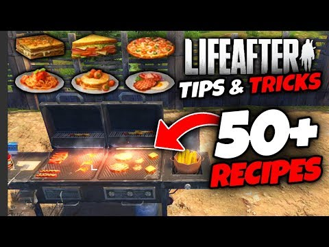 LifeAfter | Tips & Tricks | 50+ Recipes For Cooking