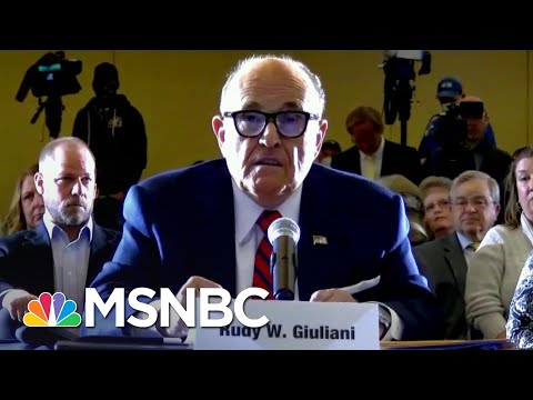 PA Lt. Governor To Trump Lawyer Giuliani: Where's The Voter Fraud?   The 11th Hour   MSNBC