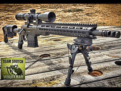 AB Arms Mod X Gen 3 Tactical Rifle Stock (видео)