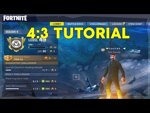 How to get the BEST stretched resolution in Fortnite +FPS boost and insane hitboxes [SEASON 5]