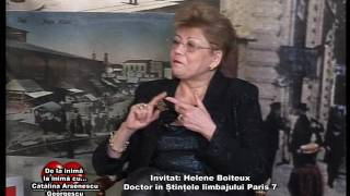 Emisiunea De la inima la inima - Invitata HELENE BOITEUX