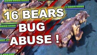 Video 16 SPIRIT BEARS Clones - Game-Breaking 7.17 Dota 2 BUG! MP3, 3GP, MP4, WEBM, AVI, FLV Juli 2018