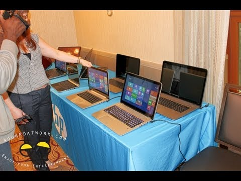 2013 HP Envy touchsmart 14, 15 &17 Notebook hands-on