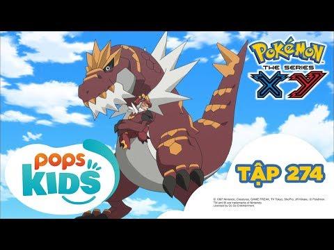 Pokémon Tập 274 - Sự Ân Cần Của Yurika! Chigorasu Mít Ướt - Hoạt Hình Pokémon Tiếng Việt S18 XY - Thời lượng: 21:43.